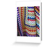 Wool Knit Greeting Card