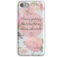 Children Walk in Truth iPhone Case/Skin