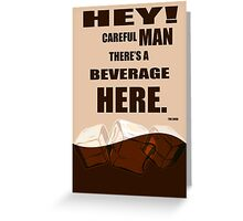 The Big Lebowski movie quote Greeting Card