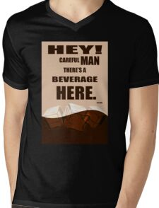 The Big Lebowski movie quote Mens V-Neck T-Shirt