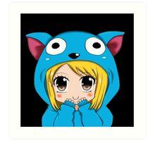 Anime Chibi Kawaii. Art Print