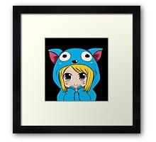 Anime Chibi Kawaii. Framed Print