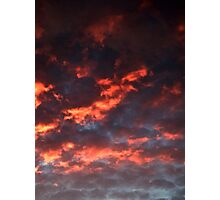 October Sunset (2456) Photographic Print