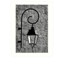 Street Light - France Art Print