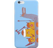 Viking Party Animals in a  Dragon Boat iPhone Case/Skin