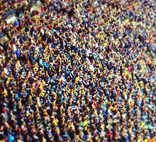 crowds in Olympic Stadium (Berlin) by novopics