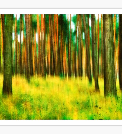 Spring Forest Colors Sticker