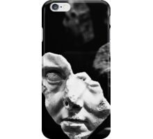 broken bust iPhone Case/Skin