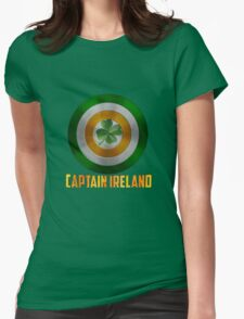 Captain Ireland Womens Fitted T-Shirt