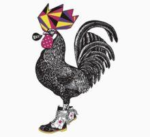 El gallo con botas One Piece - Short Sleeve