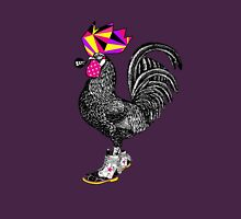 El gallo con botas Unisex T-Shirt