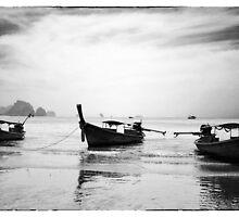 Thailand Boats by markheathcote
