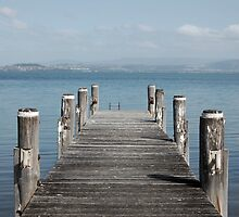 Jetty on the Lake by BriannaJayde