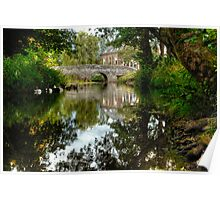 """Bridge over the river Clun"" Poster"
