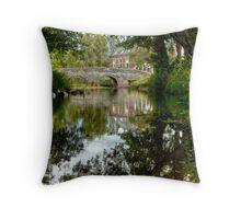 """""""Bridge over the river Clun"""" Throw Pillow"""