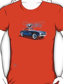 1955 BMW 507 Roadster - Blue T-Shirt