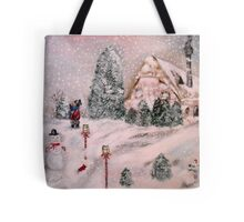 Snowy Hollow Tote Bag