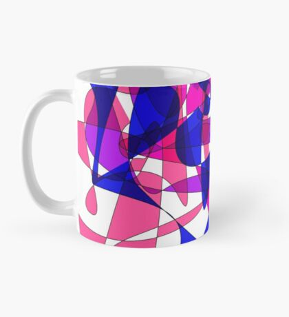 Colorful Modern Abstract Swirly Graphic Mug
