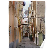 Streetview, Gaeta Poster