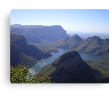 Blyde River Canyon - South Africa Canvas Print