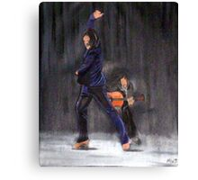Flamenco Male Canvas Print