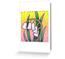 Garden Bells Greeting Card