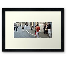 Before we Broke up or You caught no eye Framed Print
