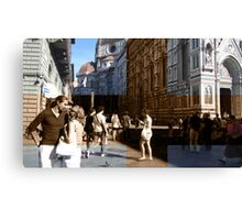 Love Cross Florence Canvas Print