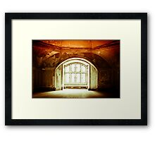 So Dawn Goes Down to Day Framed Print