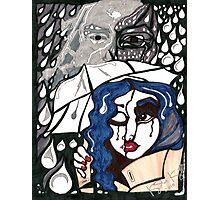 'Rain On Me In The Blackground' ~ Original Pieces Art™ Photographic Print
