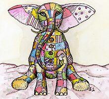 Elephants aren't really afraid of mice by Elle J Wilson