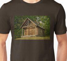 Log Cabin Unisex T-Shirt