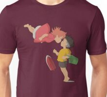 On the cliff Unisex T-Shirt