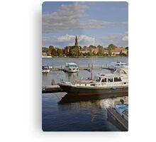 MVP105 Malchow Harbour, Germany. Metal Print
