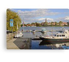 MVP106 Malchow Harbour, Germany. Metal Print