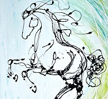 Iberian Horse by Emily McIntosh
