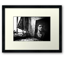 Forever Watching, Forever Waiting Framed Print