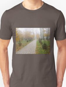 Track in autumn park T-Shirt