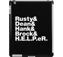 Victor Echo November & Ringo iPad Case/Skin