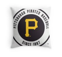 Pittsburgh Pirates Throw Pillow