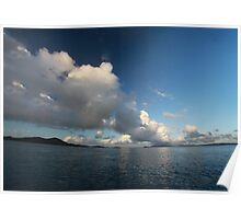Morning clouds (version) Poster