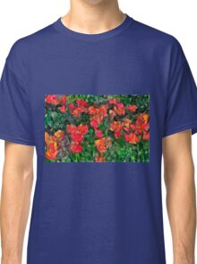 Abstract Tulips Classic T-Shirt