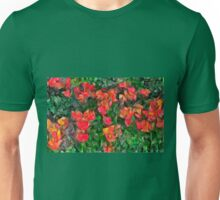 Abstract Tulips Unisex T-Shirt