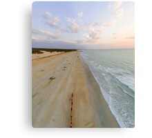 cable beach areal  Metal Print