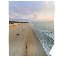 cable beach areal  Poster