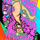 'Don't Mind My Thinking Feet' ~ Original Pieces Art™ by Kayla Napua Kong
