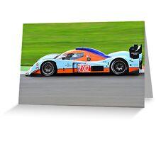 007 Lola Aston Martin Greeting Card