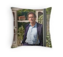 Monty Don At RHS Hampton Court Palace Flower Show 2015 Throw Pillow