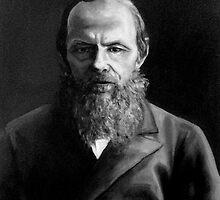 Dostoevsky Fyodor, writer by Natasa Ristic