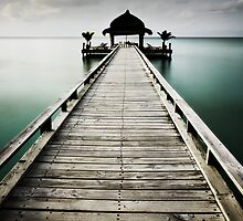 Maldives Jetty by markheathcote